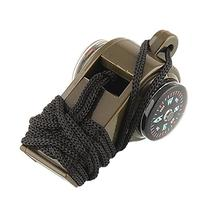 Leegoal 3 In 1 PVC Survival Emergency Outdoor Whistle