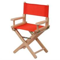 Kids Director Chair, Red