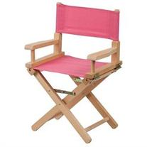 Kids Director Chair, Pink