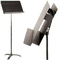 Manhasset Director's Black Sheet Music Stand with Auto-