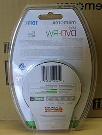 Memorex Mini Disc DVD-RW 1.4 GB 10 Pack Spindle