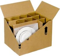 EcoBox Dish Pack Moving Kit, Pack of 2