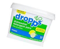 Dropps Oxi-Action Dishwasher Detergent Pacs, Lemon