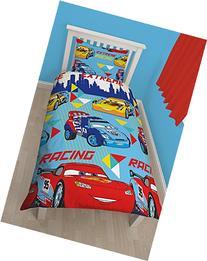 Character world Disney Cars Champ Single Rotary Duvet Set by