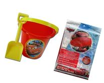 Disney Cars Sand Bucket and Shovel + Beach Ball Set