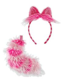 Disney Cheshire Cat Ears and Tail