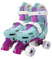 PlayWheels Disney Frozen Kids Classic Quad Roller Skates -