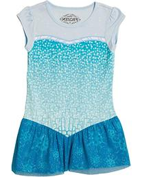Disney Frozen I Am Elsa Glitter Tunic T-Shirt | S