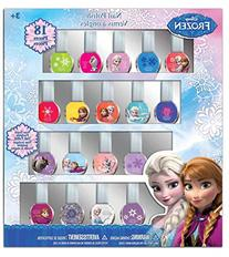 Disney Frozen Best Peel-Off Nail Polish Deluxe Gift Set for