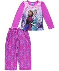 Disney Frozen Princesses Anna and Elsa Pajama for girls