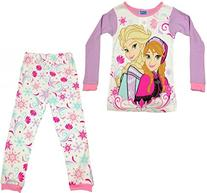 DISNEY Frozen Toddler Girls Anna and Elsa long Sleeve Cotton