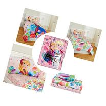 Disney Frozen Girls and Toddlers 5 Pc Bedding Set with