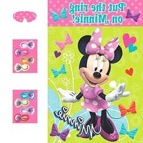 Disney Minnie Mouse Birthday Party Game Activity Supplies ,