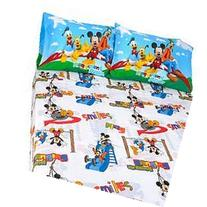 Disney Mickey Mouse Club House 'Play' 3 Piece Twin Sheet Set