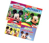 Mickey Mouse Clubhouse Workbook and Flashcard Learning