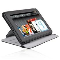 Display Folio Leather Convertible Case w/ Kickstand For