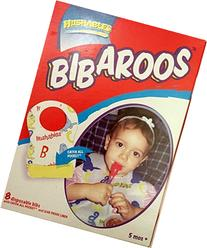 Disposable Baby Bibs 32-count, with Leak Proof Liner, and