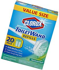Clorox Toilet Wand Disposable Toilet Cleaning Refill,
