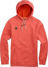 BURTON Men's Distill Pullover Hoodie, Burner Heather, Medium
