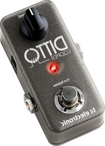 TC Electronic Ditto Looper Pedal for Guitar