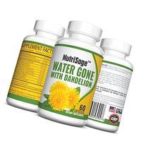 Premium Diuretic Water Pill With Dandelion - Fights Water