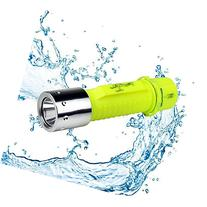 Diving Flashlight, MECO LED Submarine Light Scuba Safety