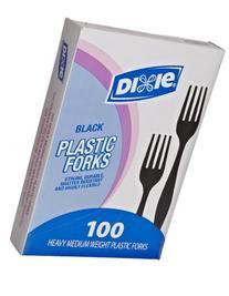 "Dixie FM507 Medium-Weight Polystyrene Fork, 6.31"" Length,"
