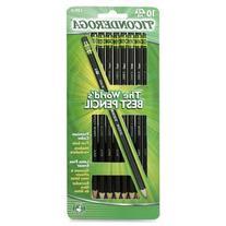 Dixon Ticonderoga Wood-Cased #2 Pencils, Pre-Sharpened, Box