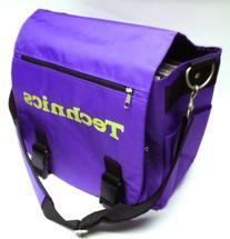 Technics DJ Record Shoulder LP Bag - Light Purple