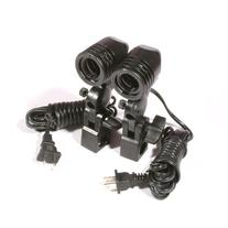 ePhoto Dk3 600 Watt Continuous Lighting Kit with 2 each 7