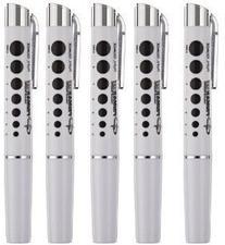 Primacare DL-9325 Reusable LED Penlight with Pupil Gaug