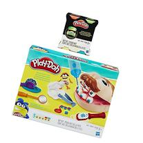 Play-Doh Doctor Drill N Fill and Play-Doh Glow Doh Bundle -