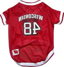 Mirage Pet Products Sports Dog Apparel Wisconsin Badgers Pet
