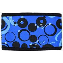 PlayaPup Dog Belly Band, Octopus Ocean Blue, Medium