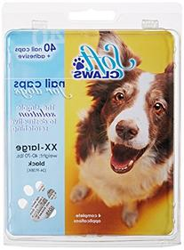 Soft Claws Dog and Cat Nail Caps Take Home Kit, XX-Large,