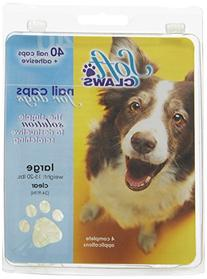 Soft Claws Dog and Cat Nail Caps Take Home Kit, Large,