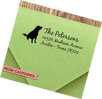 Dog Lover CUSTOM ADDRESS STAMP with proof from USA, Self-