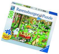 Ravensburger At The Dog Park Large Format Jigsaw Puzzle