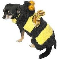 Dog Pet Bee Costume Size Medium