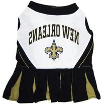 Dog Supplies New Orleans Saints Cheer Leading Small