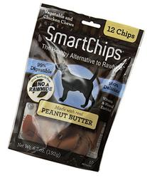 Dog Supplies Smart Chips Peanut Butter 12Pk