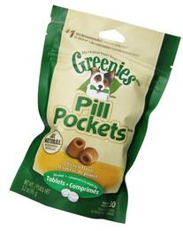 Greenies 6-Pack Dog Treat with Pill Pocket for Tablet, 3.2-