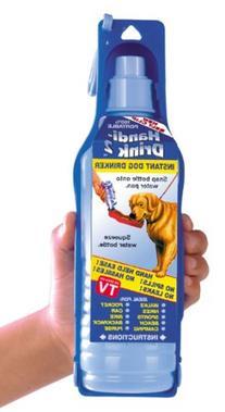 "Dog Water Bottle ""Handi"" Drink Travel System 9 oz"