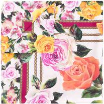 Dolce & Gabbana - floral square scarf - women - Silk - One