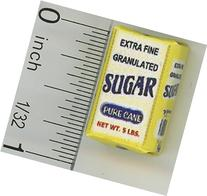 Dollhouse Miniature Bag of Extra Fine Granulated Sugar