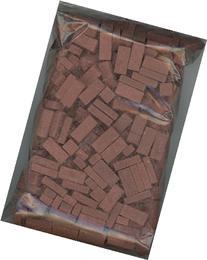 Dollhouse Miniature Red Blend Brick Blend by Andi Mini Brick