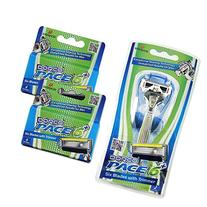 Dorco Pace 6 Plus- Six Blade Razor System with Trimmer -