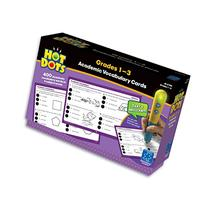 Educational Insights Hot Dots Academic Vocabulary Card Set-