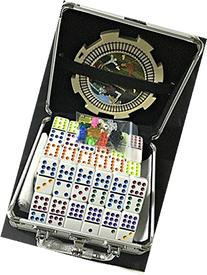 Mexican Train & Chicken Domino Set, Professional Set of 91,