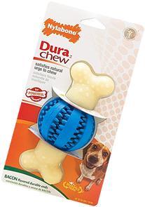Nylabone Double Action Dental Chew Rnd Ball